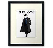 New Sherlock Holmes BBC 2016 Edition Framed Print