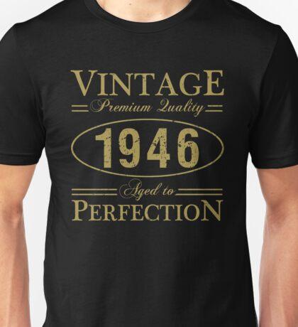 Born In 1946 Gag Gift Unisex T-Shirt