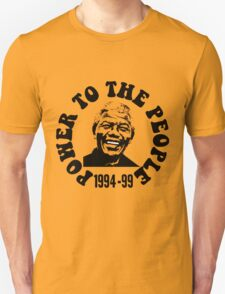"""""""POWER TO THE PEOPLE""""-MANDELA T-Shirt"""