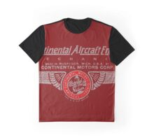 Continental Aircraft Engine mechanic Graphic T-Shirt