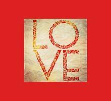 Cute Vintage Red Floral Love Unisex T-Shirt