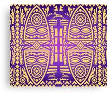 Ornamental African Pattern 2 Canvas Print