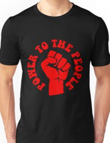 """POWER TO THE PEOPLE"" Unisex T-Shirt"