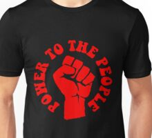 """""""POWER TO THE PEOPLE"""" Unisex T-Shirt"""
