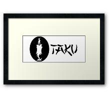 Otaku Lord Death - Soul Eater Framed Print