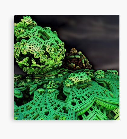 Trippy Design Canvas Print