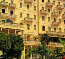 Majestic Hotel Pallanza Lake Maggiore Italy Sticker
