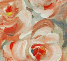 Shabby Flowers Sticker