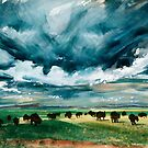 Buffaloes - 1975 by Syd Baker