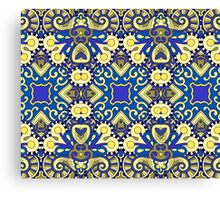 Royal Ornamental Indian Pattern Canvas Print