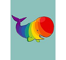 Homosexuwhale - no text Photographic Print