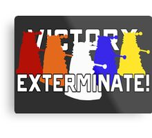 Victory of the Daleks Metal Print
