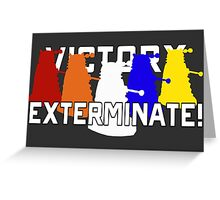 Victory of the Daleks Greeting Card