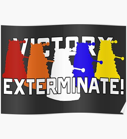 Victory of the Daleks Poster