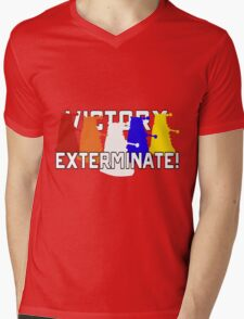 Victory of the Daleks Mens V-Neck T-Shirt
