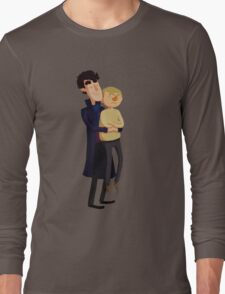 Put me down, Sherlock Long Sleeve T-Shirt