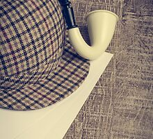 Sherlock Hat and Tobacco pipe by homydesign