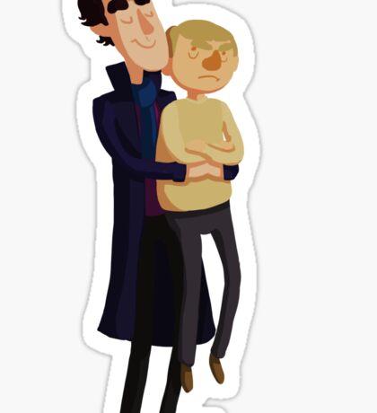 Put me down, Sherlock Sticker
