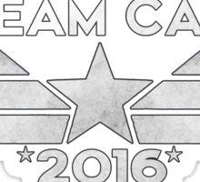 Team Cap 2016 Sticker