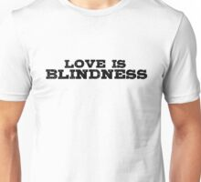 Rock Music Lyrics Guitar Love T-Shirt Unisex T-Shirt