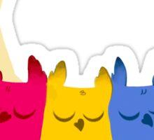 Pansexuowls Sticker