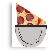 I got pizza slice in my pocket and I'm proud of it Canvas Print