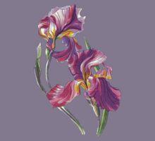 Irises-1 Kids Tee