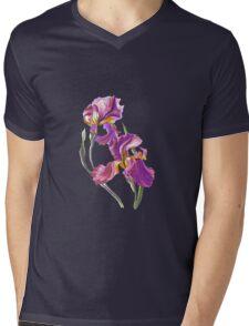 Irises-1 Mens V-Neck T-Shirt
