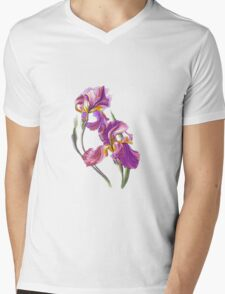 Irises-1 Mens V-Neck T-Shirt