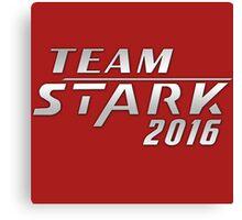 Team Stark 2016 Canvas Print