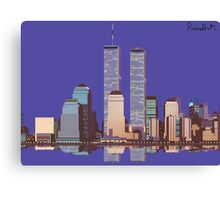 Memoirs of the World Trade Center Canvas Print