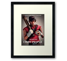 Team Fortress - Scout Framed Print
