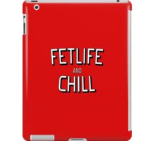 Funny and Chill - fun quote love cool pink kinky awesome red cute humor classic iPad Case/Skin
