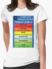 Credit Card Bill : Threat Level T-Shirt