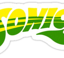 DEFUNCT - SUPER SONICS Sticker