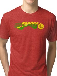 DEFUNCT - SUPER SONICS Tri-blend T-Shirt