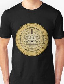 Gravity Falls Bill Cipher Wheel T-Shirt