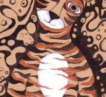 Little tiger Sticker