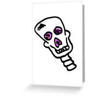 Skull boy 2 Greeting Card