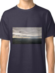 windy day in the gulf of trieste Classic T-Shirt