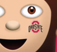 Ohio State Sassy Girl Sticker