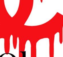 Bloody Chanel Oberlin! Sticker