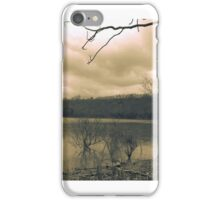 Rainy Day at Dale Hollow  iPhone Case/Skin