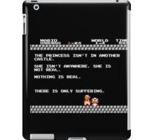 Nihilist Mario iPad Case/Skin