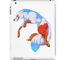 Icefury the Wolf of Fire and Ice iPad Case/Skin