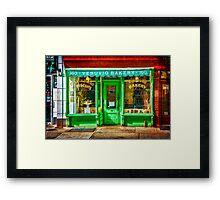 Soho Bakery Framed Print