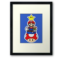 Super Mario Tranquility Framed Print