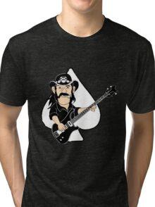 Lemmy Caricature Tri-blend T-Shirt
