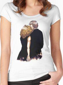 River/Twelve Sketch Women's Fitted Scoop T-Shirt