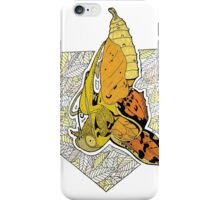 New beginnings- butterfly emerging from a chrysalis iPhone Case/Skin